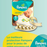 Pampers : 135 couches Pampers New Baby 21,87€