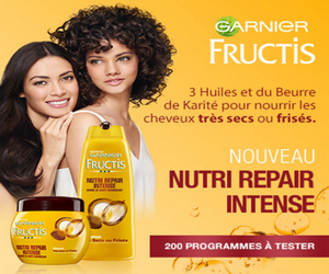 testez gratuitement le programme shampooing fortifiant masque nutri repair intense fructis. Black Bedroom Furniture Sets. Home Design Ideas