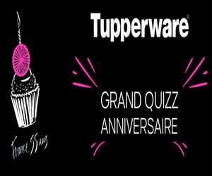 jeu anniversaire tupperware 55 ans 55 lots gagner maximum chantillons. Black Bedroom Furniture Sets. Home Design Ideas