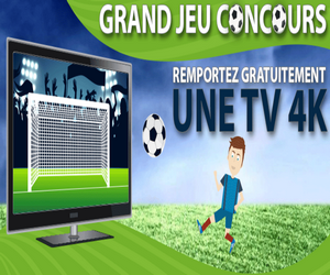 jeu concours gratuit 1 tv 4k pour l 39 euro 2016 de football. Black Bedroom Furniture Sets. Home Design Ideas