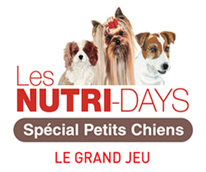royal canin jeu les nutris days 3 mois de nutrition pour votre petit chien gagner maximum. Black Bedroom Furniture Sets. Home Design Ideas