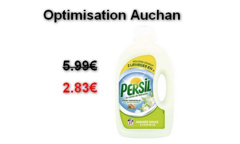 auchan lessive liquide persil au lieu de optimisation maximum chantillons. Black Bedroom Furniture Sets. Home Design Ideas