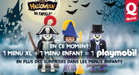 Playmobil Halloween Quick.Quick 1 Menu Xl 1 Menu Enfant Achete 1 Playmobil
