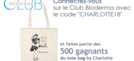 Grand Jeu Club bioderma 500 Tote bag Charlotte HUSSON à Gagner