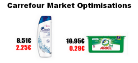 Carrefour Market : Promotions et optimisations (Du 20 Novembre 2018 au 25 novembre 2018)