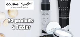 Gouiran Créative Test Produit : Rituels Make-Up visage Matifiants et Lissants LONG LASTING Astra Make-Up