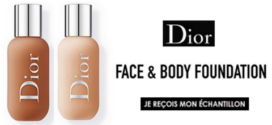 Échantillon Gratuit : Fond de teint Face & Body Foundation Dior Backstage