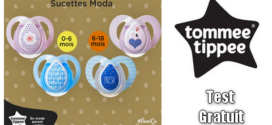 Tommee Tippee Test Gratuit : Sucettes Moda Tommee Tippee