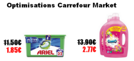 Carrefour Market : Promotions et optimisations (Du 20 Août 2019 au 1er septembre 2019)
