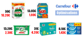 Carrefour : Promotions et Optimisations (Du 23 Septembre 2019 au 30 Septembre 2019)