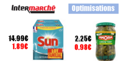 Intermarché : Promotions et optimisations (Du 17 Septembre 2019 au 22 Septembre 2019).