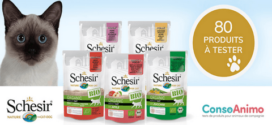 Test Produit Conso Animo : Sachets schesir humide BIO pour chat