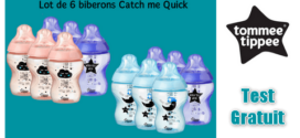 Tommee Tippee Test Gratuit : Biberons Catch Me Quick Tommee Tippee