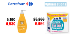 Carrefour : Promotions et optimisations (Du 08 Octobre au 14 Octobre 2019)