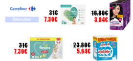 Carrefour : Promotions et optimisations (Du 18 Février 2020 au 02 Mars 2020)