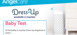 Test de Produit ConsoBaby : Poubelle à couches Dress Up ANGELCARE