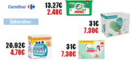 Carrefour : Promotions et optimisations (Du 25 Février 2020 au 09 Mars 2020)
