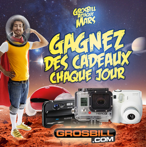 Concours Facebook Grosbill