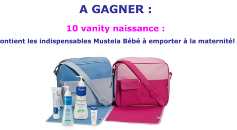 Concours Mustela 10 Vanitys à gagner
