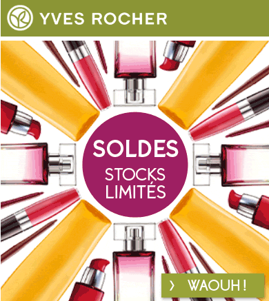 Yves Rocher soldes promotion
