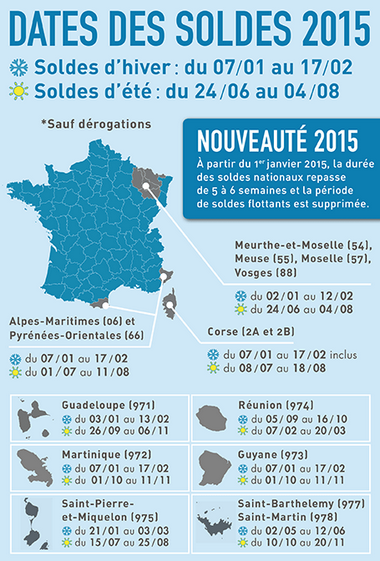 Soldes Calendrier 2015