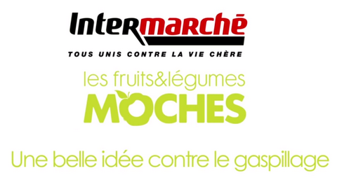 Intermarché fruits et légumes moches réduction
