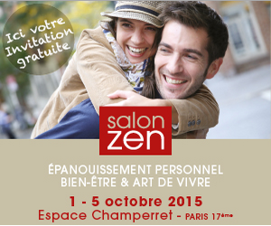 Salon Zen 2015 invitation gratute
