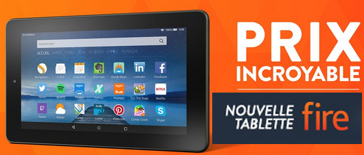 Tablette Fire Amazon