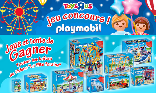 Concours Toys R us Playmobil