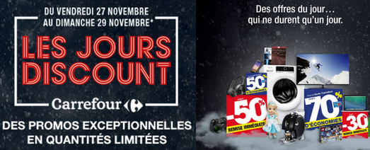 Carrefour Black Friday jours discount
